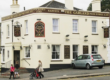 The Garland in Redhill